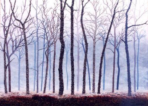 Pintura de Graciano Garcia - Niebla