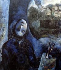 Autorretrato de Chagall