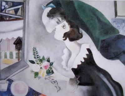 El cumpleaños. Marc Chagall