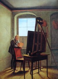 Autorretrato Caspar David Friedrich