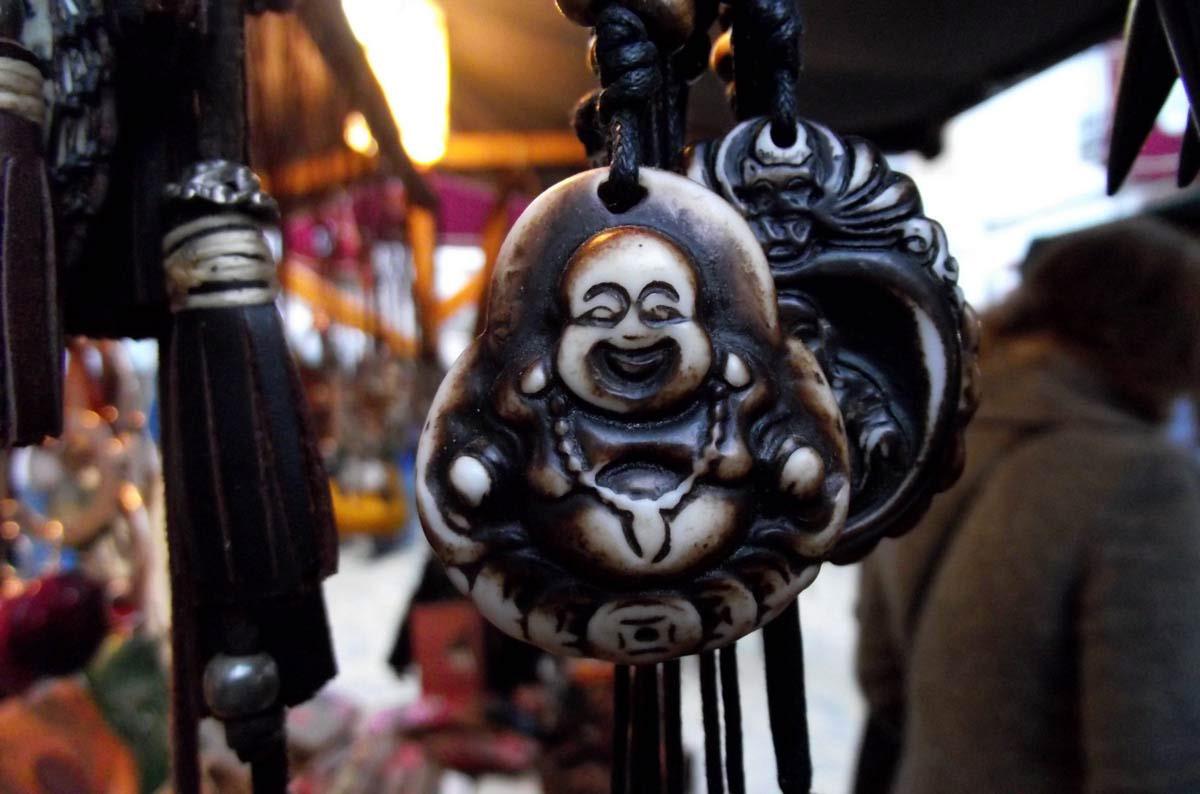 Un Buda sonriente