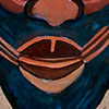 Ilustración de Máscara Senoufo