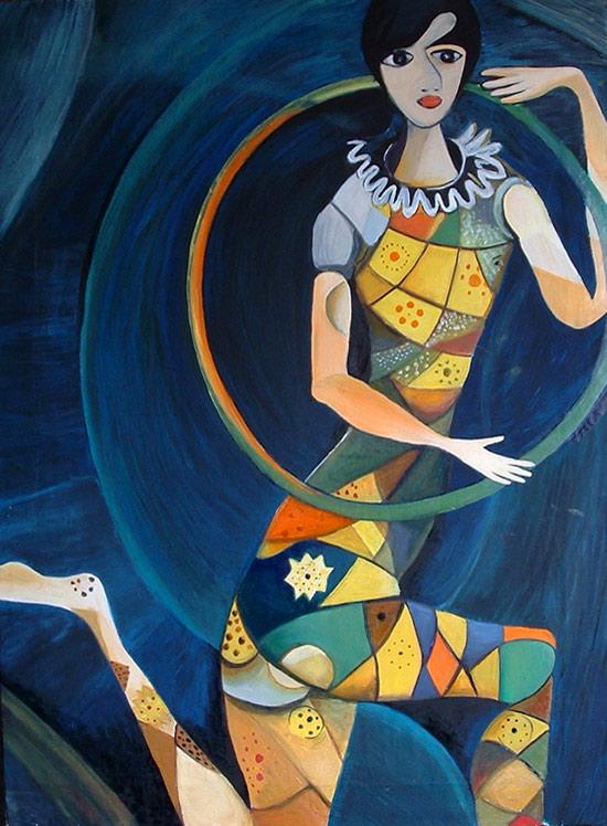 Acróbata de Marc Chagall