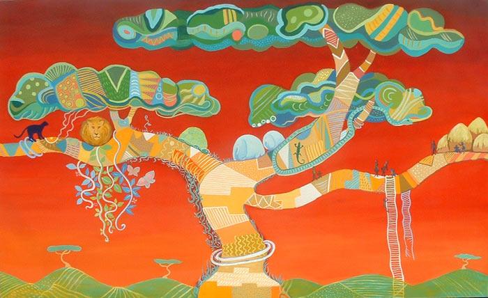 El árbol africano de Cristina Alejos