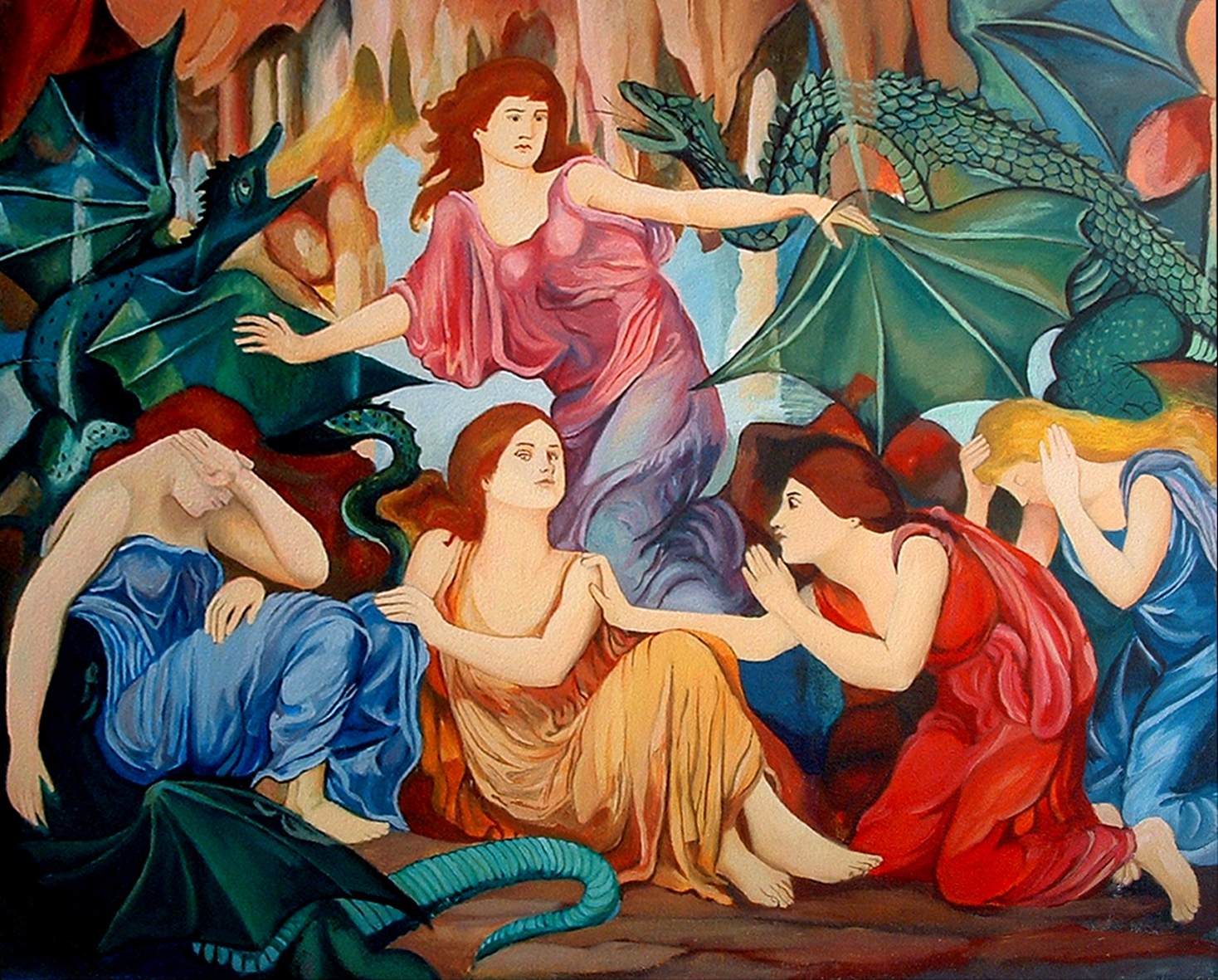 Las cautivas, de Evelyn de Morgan - copia de  Cristina Alejos
