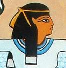 Arte Egipcio - Mujer con alas