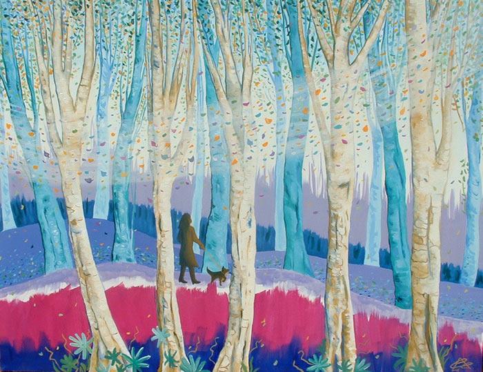 Los cinco árboles blancos de Cristina Alejos