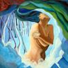 Mundos Azules, autorretrato de Cristina Alejos