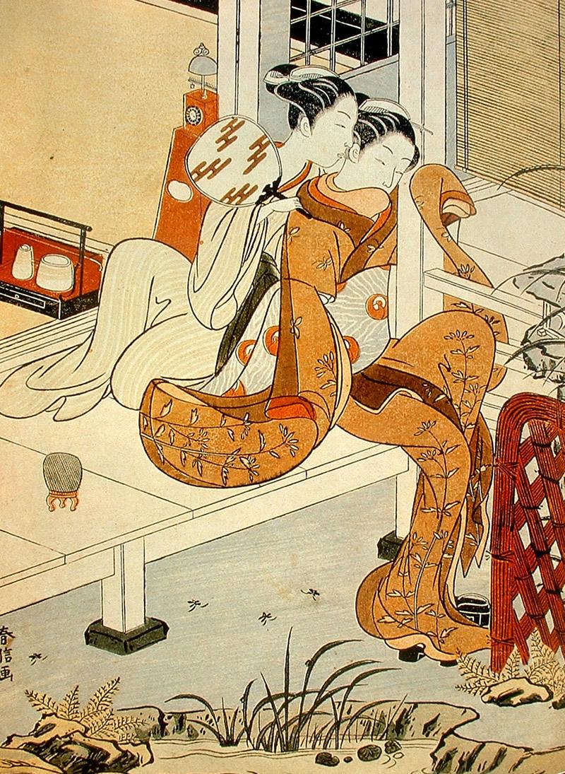 Ilustración japonesa Ukiyo-e Mujeres