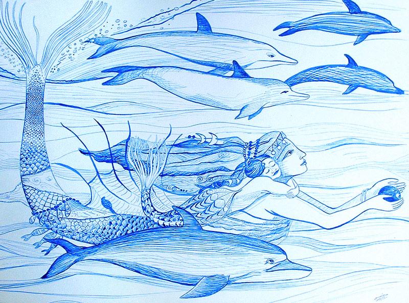 Merchild o la niña del mar
