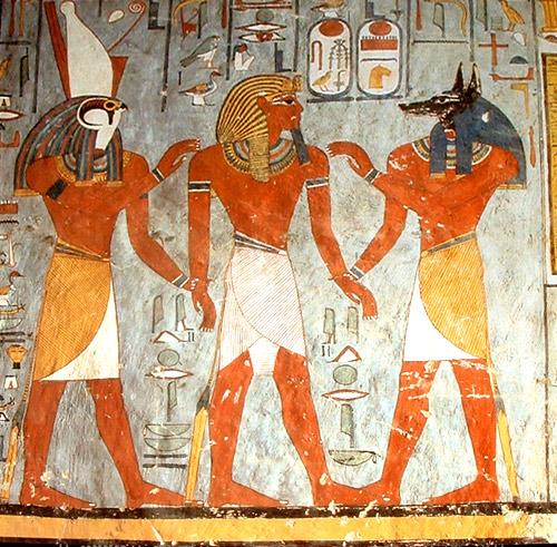 Anubis. Arte Egipcio