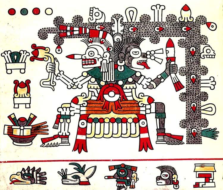 Dos dioses Aztecas