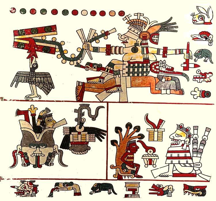 Códice Laud - Arte azteca