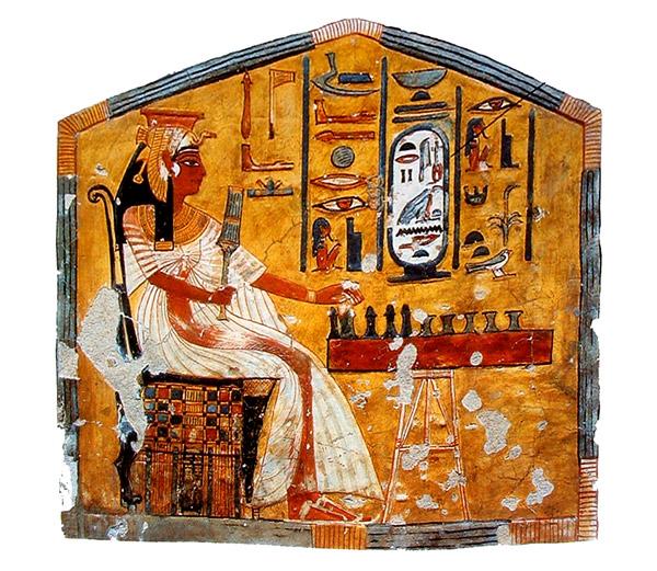 Nefertari. Arte egipcio