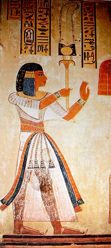 Tumba de Imenherkhopchef. Arte Egipcio