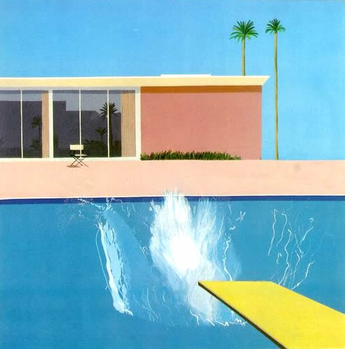 El Gran chapuzón de David Hockney