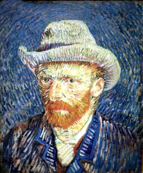 Autorretrato de Vicent Van Gogh