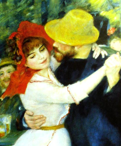Baile en Bougival de Renoir