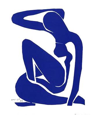 Desnudo azul de Matisse