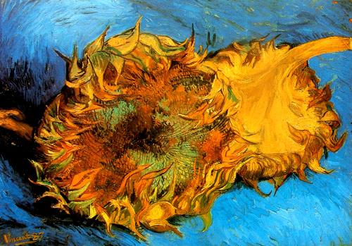 Cabeza de Girasol de Van Gogh