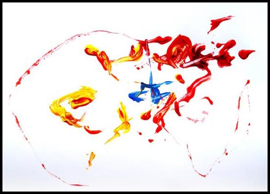 Action painting de Daniel