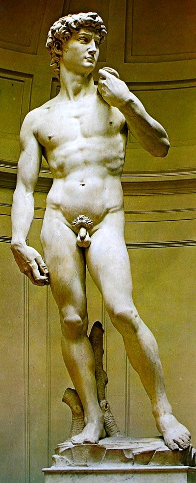 Escultura David de Miguel Ángel