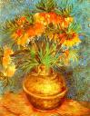 Van Gogh golden vase