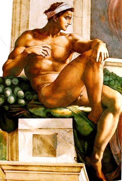Los desnudos masculinos de Miguel Ángel Buonarroti | Pintura y Artistas