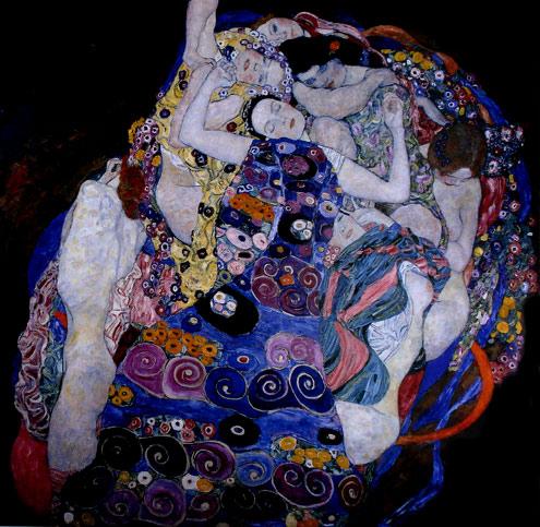 Joven Virgen de Klimt