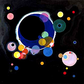 Kandinsky. Several circles