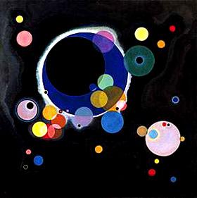 Kandinsky. Varios circulos1926