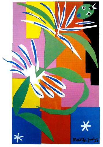 Bailarina de Matisse