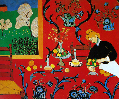 Habitación roja de Matisse