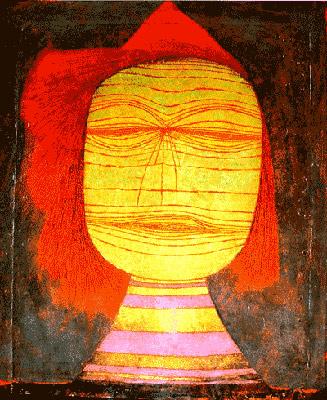 Cabeza de Paul Klee