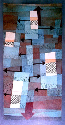 Composición de Paul Klee