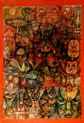 Composición 2 de Paul Klee