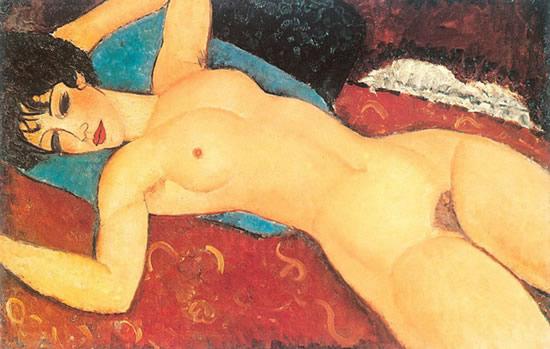 Desnudo tumbado de Amadeo Modigliana