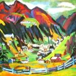 Ernst Ludwig Kirchner en Davos