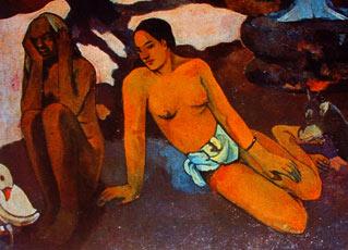 Gauguin- Vejez y juventud