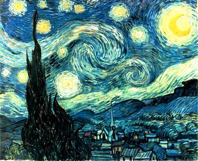 Noche estrellada de Vicent Van Gogh