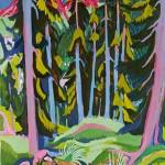 árboles Davos Ernst Ludwig Kirchner