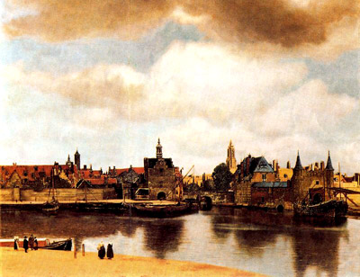 View of Delft by Vermmer