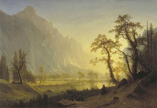 Pinturas de Thomas Moran