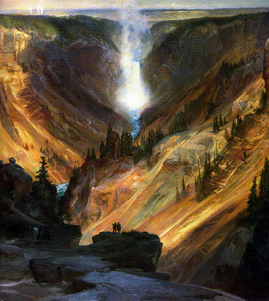 Yellowstone Canyon de Thomas Moran
