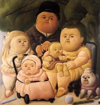 Fernando Botero, familia