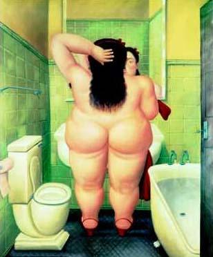 Mujer desnuda de Fernando Botero