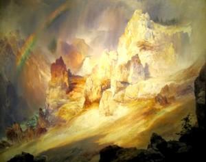 Gran cañón del colorado de Thomas Moran