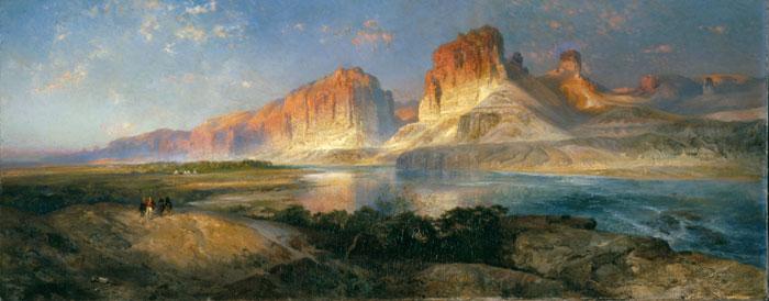 Montañas de Thomas Moran