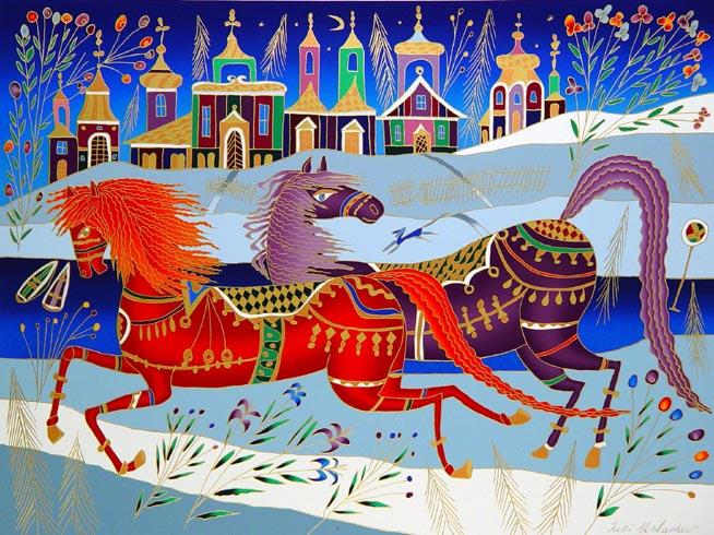 caballo de yuri-gorbachev