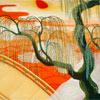 Japanish tree painting